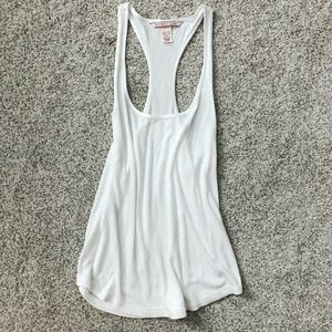 NWOT Victoria's Secret White Ribbed Tank